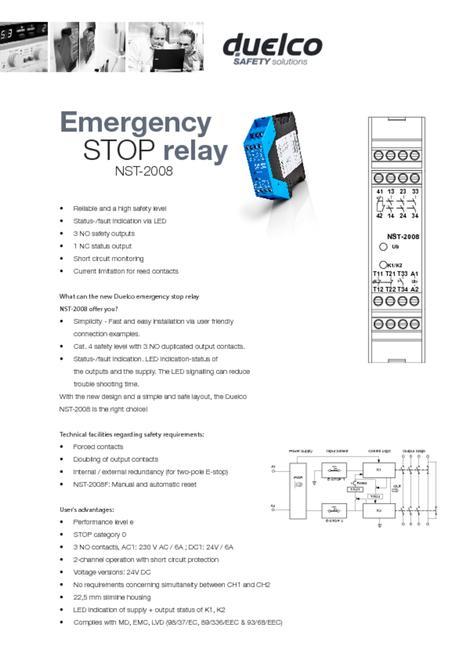 NST-2008 data sheet